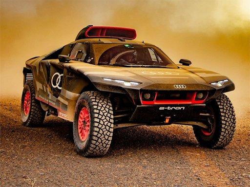 Audi RS Q Dakar Rally Puzzle