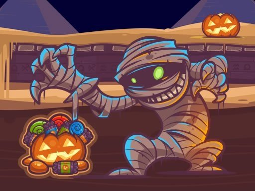 Mummy Candies – Halloween Scary Edition
