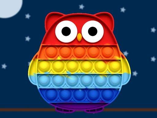 Pop It Owl Jigsaw