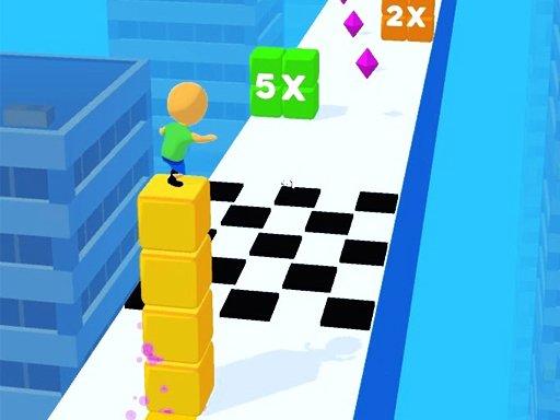 Stack Cube Surfer 3d